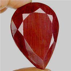 395 ct. Pear Shape Ruby Gemstone