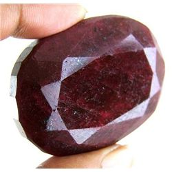 385 ct. Oval Ruby Gem Natural