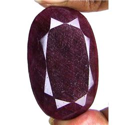 395 ct. Oval Ruby Gemstone