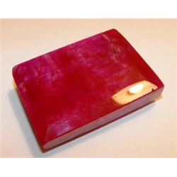 480 ct. Square Ruby Gemstone