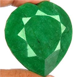 830 ct. Heart Shape Emerald Gem