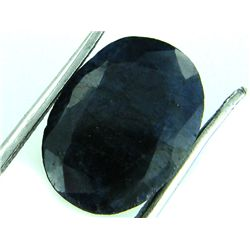 4 ct. Natural DEEP Dark Blue Sapphire