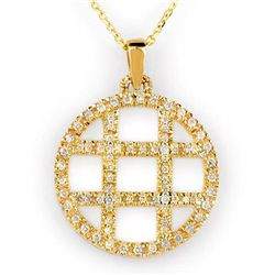 Natural 2.0 ctw Diamond Necklace 14K Yellow Gold