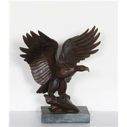 Lee Harold Lux, Eagle, Bronze Sculpture