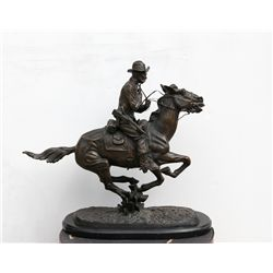 Frederic Remington, Trooper of the Plains, Bronze Sculpture