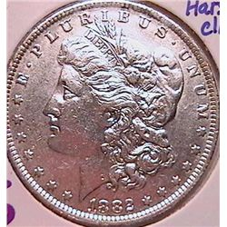 1882-O/S Morgan Dollar AU50