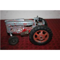 HUBLEY DIE CAST TRACTOR -ALL GOOD W/ WORKABLE PARTS - 9""