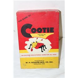 THE GAME OF COOTIE - ORIG BOX COMPLETE