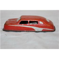 EARLY PRESSED TIN CAR - ARGO - ORIG PAINT 4""