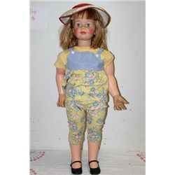 "EXCELLENT JOINEN DOLL BY IDEAL - 36"" - ALL GOOD"