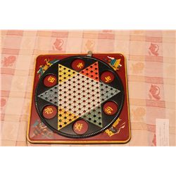 CHINESE CHECKERS COMPLETE BY RANGER STEE PRODUCTS - NEW YORK
