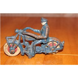 """IRON MOTORCYCLE MARKED CHAMPION - 6"""" LONG - 4"""" HIGH"""
