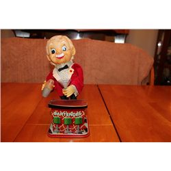 "BATTERY OPERATED BARTENDER - 11"" TALL - JAPAN"