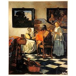 Jan Vermeer  Limited Edition - The Concert