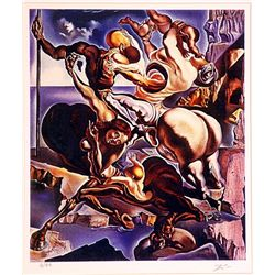 Salvador Dali Signed Limited Edition - Family of Marsupial Centaurs