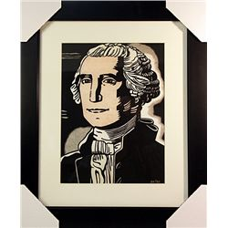 Roy Lichtenstein Limited Edition-George Washington