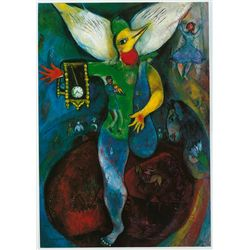 The Jugglar- Chagall - Limited Edition on Canvas