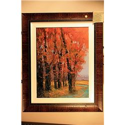 Michael Schofield Original Acrylic on Board -Autumn Splendor