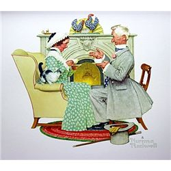 Gaily Sharing Vintage Times by Rockwell