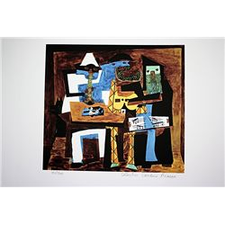 Picasso Limited Edition - 3 Musicians - from Collection Domaine Picasso