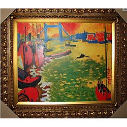 La Tamise at Tower Bridge  -Andre Derain - Limited Edition
