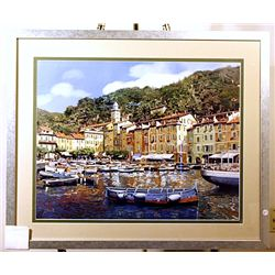 Borelli - Portofino - Lithograph
