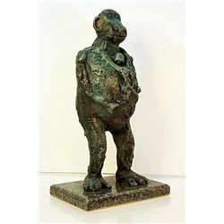 Pablo Picasso Original, limited Edition Bronze - Baboon and Young