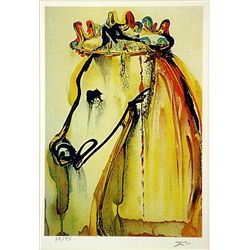 Salvador Dali Signed Limited Edition - Catigula's Horse