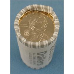 2009-D Gem UNC Sacagawea Roll (25) of US Dollar Coins