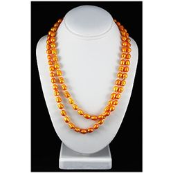 476.09ctw Dyed Color Freshwater Pearl Necklace 23inches
