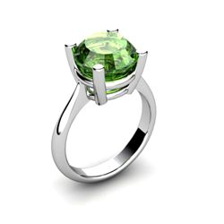 Tourmaline 3ctw Ring 14kt White Gold