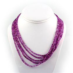295.5ctw Natural Faceted Amethyst Silver Sets