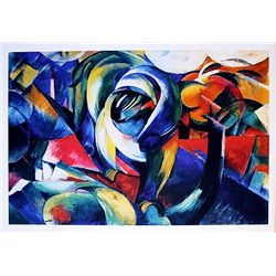 Franz Marc - The Mandrill - Limited Edition on Paper