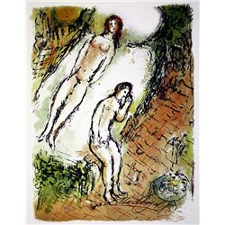 Marc Chagall Limited Edition Lithograph from L'Odyss&#233;e Suite