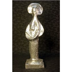 Rare Pablo Picasso Limited Edition Real Silver Sculpture - Standing Woman, 1947