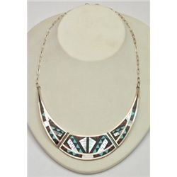Zuni Multi-Stone Necklace - Marylita Boone