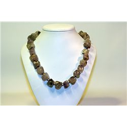 Unisex Beautiful  All Natural Stones  Amethyst Necklace