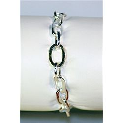 Unisex Fancy Tiffany Silver Bracelet