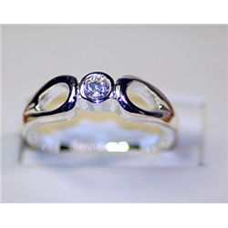 Lady's Fancy Tiffany Silver Ring