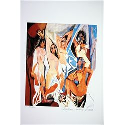 Picasso Limited Edition - Women Of Avignon - from Collection Domaine Picasso