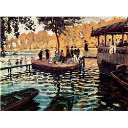 La Grenouillere - Monet - Limited Edition on Canvas