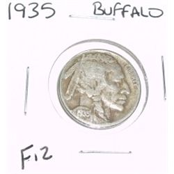 1935 Buffalo Nickel *FINE-12 GRADE*!!