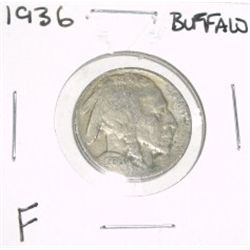 1936 Buffalo Nickel *FINE GRADE*!!