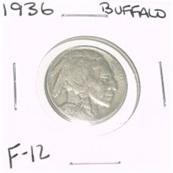 1936 Buffalo Nickel *FINE-12 GRADE*!!