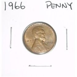 1966 Lincoln Cent Penny *PLEASE LOOK AT PICTURE TO DETERMINE GRADE*!!