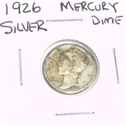 1926 Mercury SILVER Dime *PLEASE LOOK AT PICTURE TO DETERMINE GRADE*!!