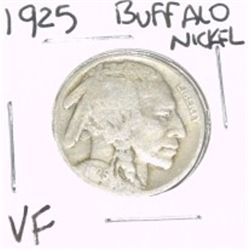 1925 Buffalo Nickel *VERY FINE GRADE*!!