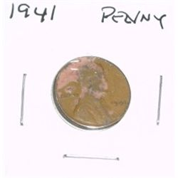 1941 Lincoln Cent Penny *PLEASE LOOK AT PICTURE TO DETERMINE GRADE - NICE COIN*!!