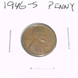 1946-S Lincoln Cent Penny *PLEASE LOOK AT PICTURE TO DETERMINE GRADE - NICE COIN*!!