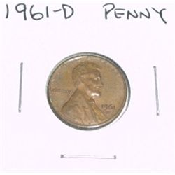 1961-D Lincoln Cent Penny *PLEASE LOOK AT PICTURE TO DETERMINE GRADE - NICE COIN*!!